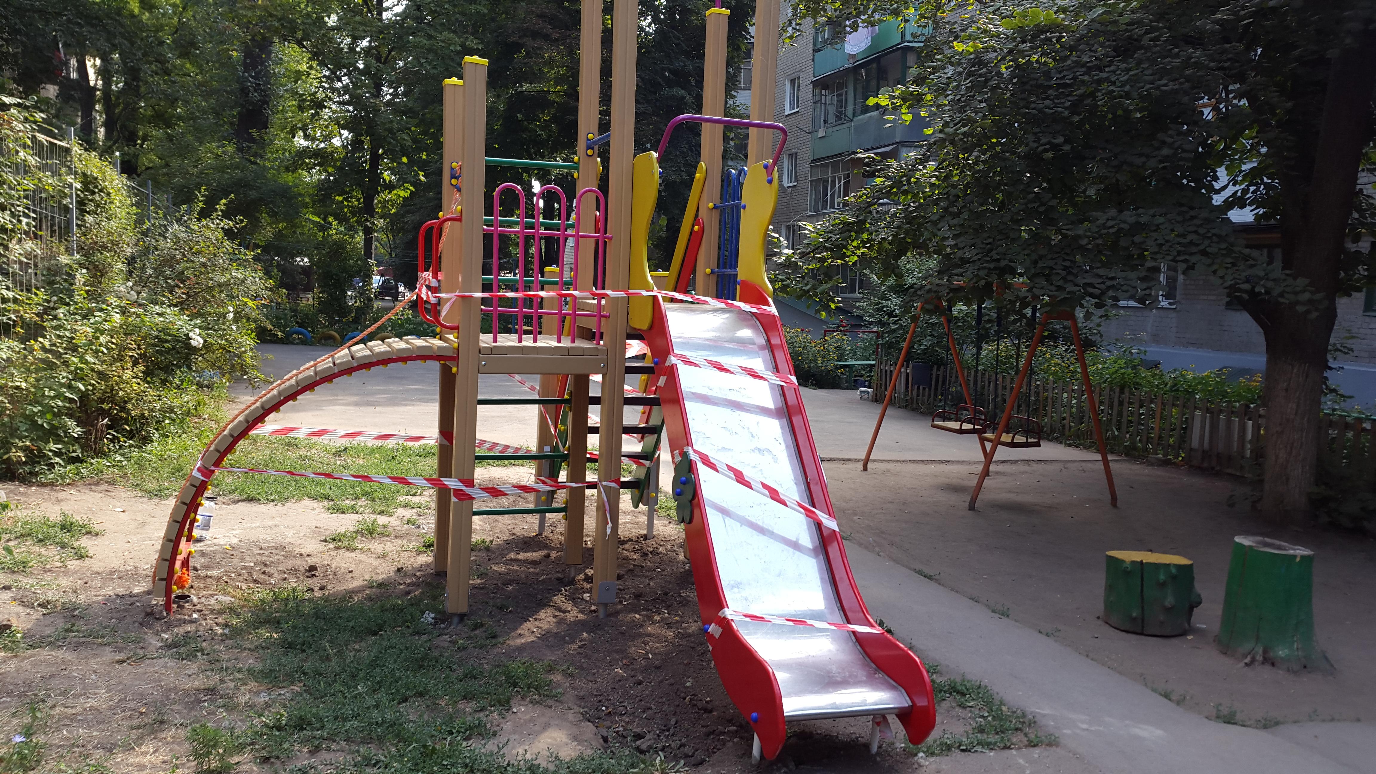 Детские площадки - Андрей Карабедов