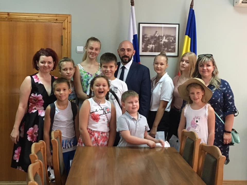 Маленькие гости в Думе - Карабедов